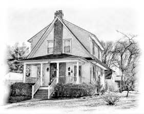 House Sketch house sketch old farmhouse