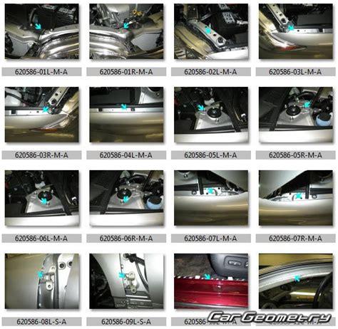 2005 toyota avalon manual кузовные размеры toyota avalon gsx30 2005 2012 collision