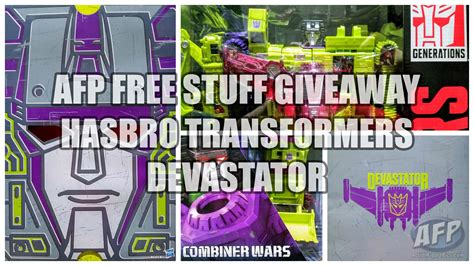 Free Stuff Sweepstakes - sdcc 2015 afp free stuff giveaway hasbro transformers combiner wars devastator