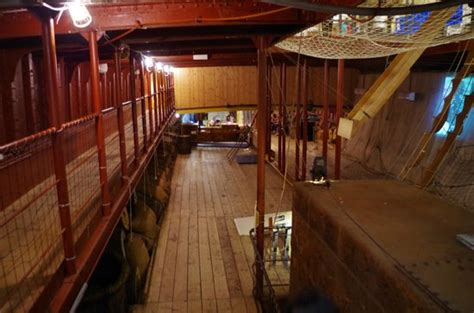 cargo hold picture   tall ship  riverside