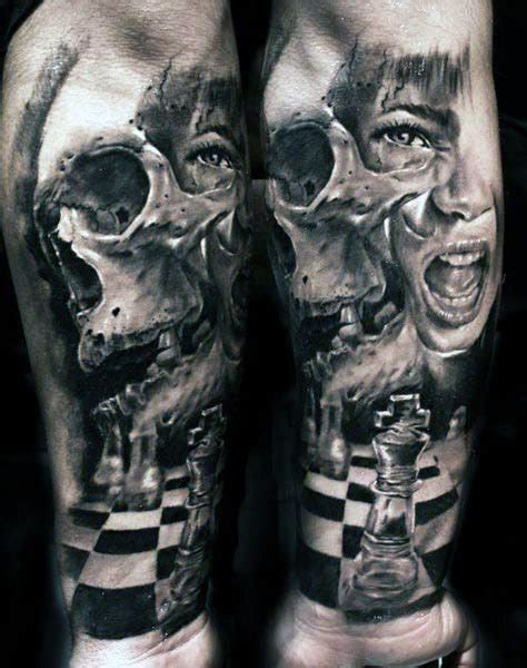 scary skull tattoo designs top 80 best skull tattoos for manly designs and ideas