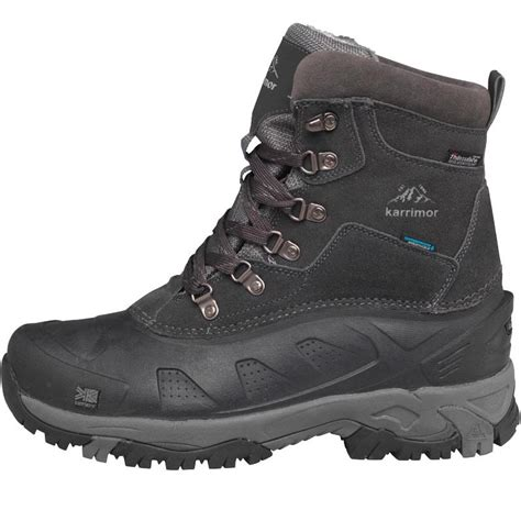 Karrimor Boots Black buy karrimor mens snowfur ii weathertite snow boots black