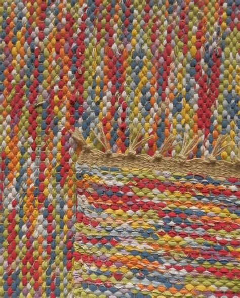 woven rag rugs woven rag rug colored marbles 19 quot x 35 quot custom rug possible