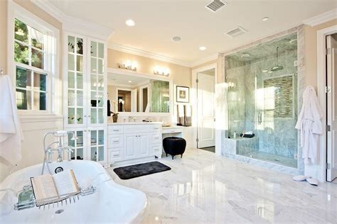 White Master Bathroom Ideas by 34 Luxury White Master Bathroom Ideas Pictures
