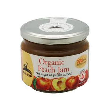 alce nero organic peach jam reviews