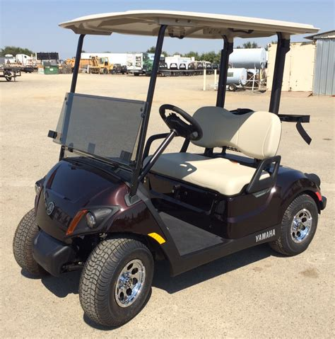 2018 yamaha golf cart 2018 yamaha gas golf cart metallic brown johnson