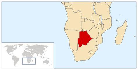 botswana on a world map maps of botswana map library maps of the world