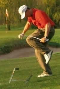 golf swing broken down blocked practice vs random practice for golf