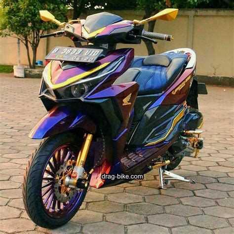 Gambar Motor Vario Modifikasi by Modifikasi Motor Vario Fi 150 Modifikasi Yamah Nmax