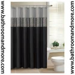 black and grey shower curtain best 25 black and silver curtains ideas on pinterest