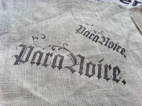 Transfer Letters To Fabric diy how to transfer ink onto fabric living in grace