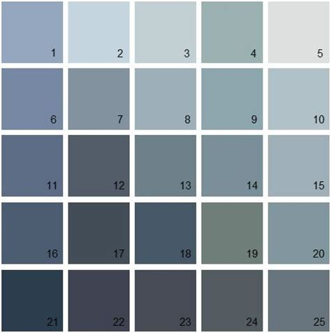 1000 ideas about benjamin blue on paint palettes blue paint colors and blue grey