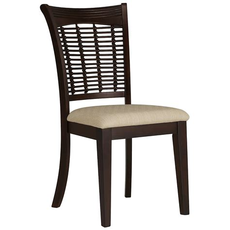 side chairs for dining room bayberry dark tone side chair