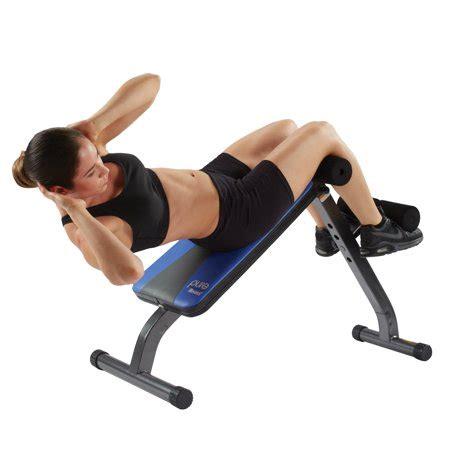 fitness ab crunch sit up bench walmart