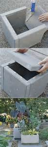 4 step diy paver planter planters diy concrete and