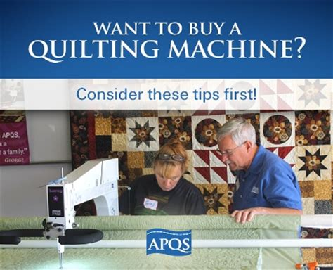 Longarm Quilting Machine Giveaway - things to consider when buying a longarm quilting machine apqs