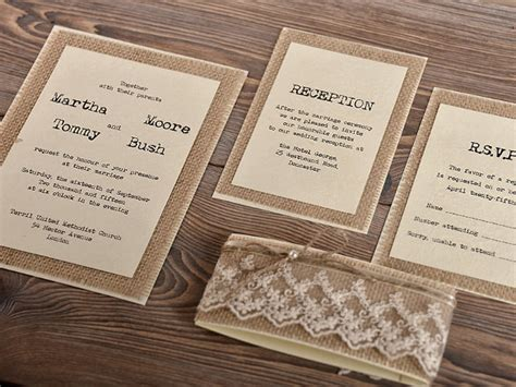 rustic wedding invitations templates 27 rustic wedding invitation templates free sle