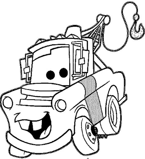 best 15 mater cars coloring pages photos