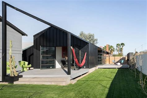 Interior Design 1920s Home by Glass And Metal Addition Transforms 1920s Bungalow In Phoenix