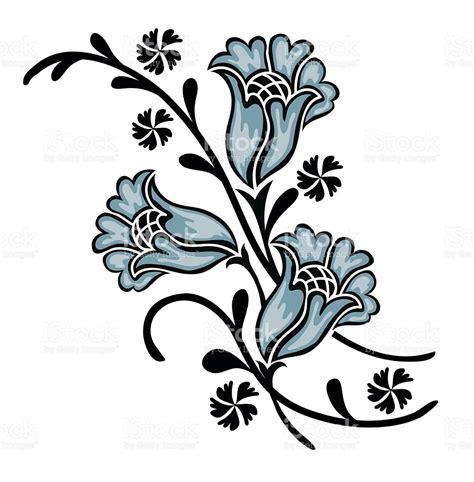 flower motif stock vector 516112802 istock