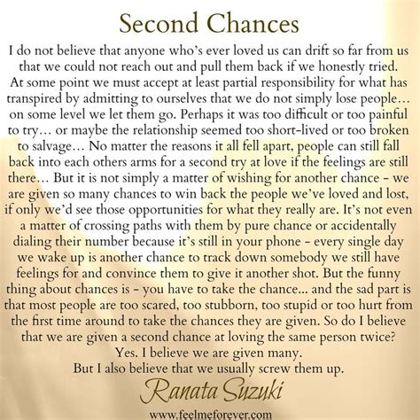 second chance a modern tale happily inc 25 best another chance quotes on