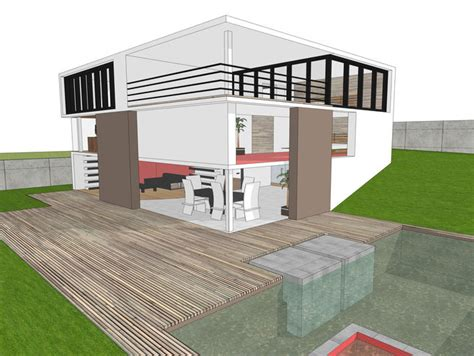 create 3d model of your house modern house free 3d model 3ds dae dwg skp cgtrader