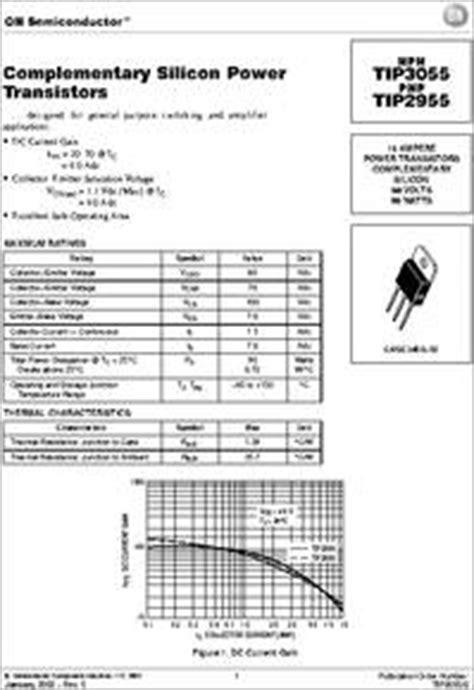 gambar transistor tip 2955 gambar transistor tip 2955 28 images tip2955 datasheet pdf savantic inc transistor tip 2955