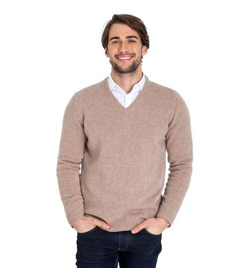 V Knitted Longsleeve woolovers mens sleeve lambswool v neck jumper sweater knitted ebay