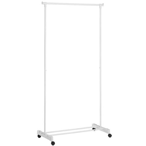 White Clothes Rack by Honey Can Do Portable White Garment Rack Shop Your Way