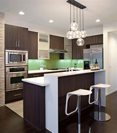 open kitchen design for small apartment houses