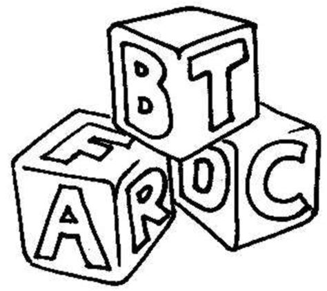 coloring pages abc blocks baby building blocks clipart abc blocks coloring page