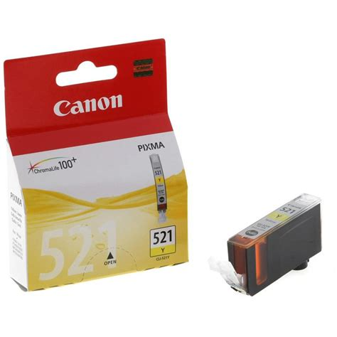 Canon Cartridge Cl 751 Yellow canon cli 521y inkjet cartridge yellow officemachines net