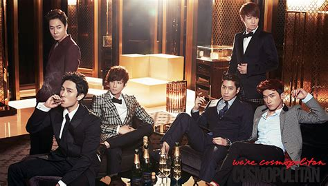 along with the gods allkpop shinhwa members transform into classy gentlemen for