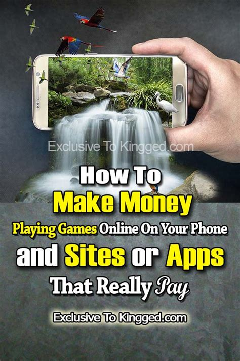 earn money playing games   sites  apps  pay