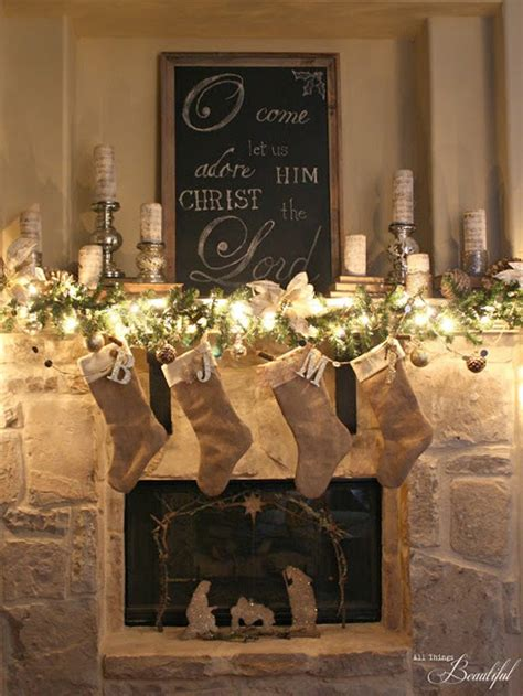 our 20 favorite mantel decorating ideas christmas mantel
