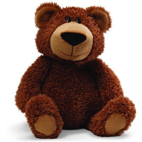 Boneka Brown Teddy Import Plush Soft Doll gund hubble brown teddy plush 0 fuhzee