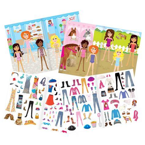 Sticker Book fashion sticker book galt toys
