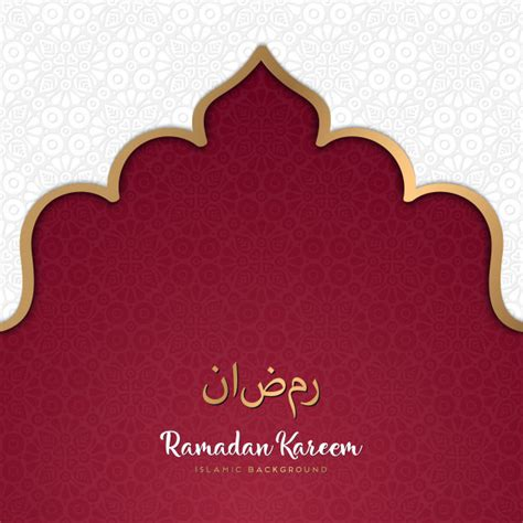islamic background vector