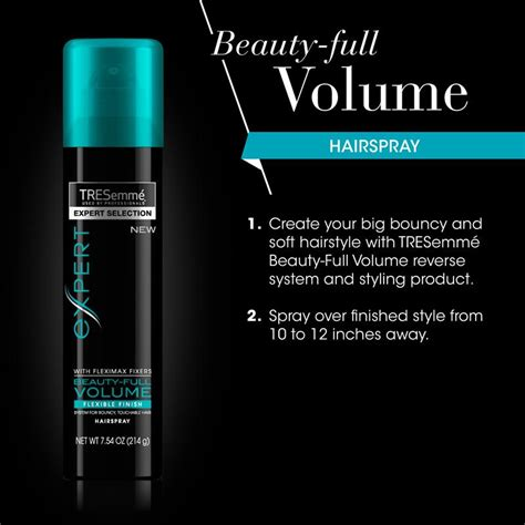 Harga Tresemme Max The Volume tresemm 233 volume hair spray