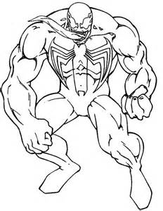 venom coloring pages venom consisting of great coloring pages