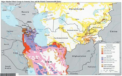 uzbek kazakh russian kirghiz tajik tatar accuracy map ethnic groups in iran and central asia informed comment