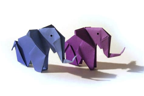 Origami Elephant Tutorial - 25 b 228 sta origami elephant id 233 erna p 229 origami