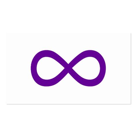 infinity symbol template purple infinity symbol sided standard business
