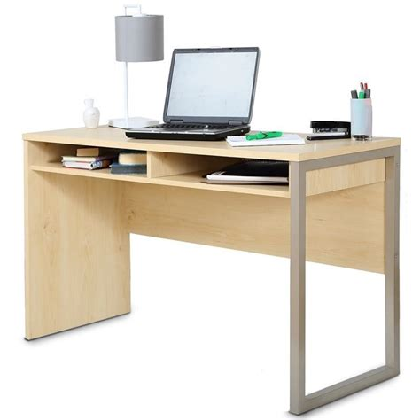 south shore office furniture south shore interface desk in maple 7324070