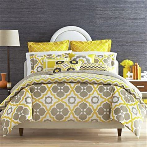 yellow pattern duvet cover yellow and grey amazing pattern happy chic by jonathan