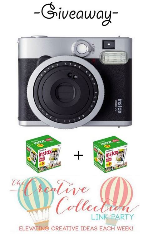 Camera Giveaway 2014 - the creative collection link party