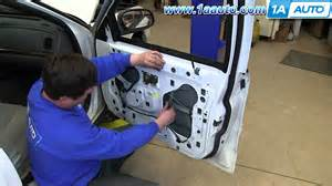 How to install replace front power window regulator 2003 05 ford crown