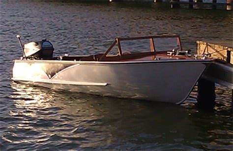 1957 wolverine 16 aluminum boat for sale in product