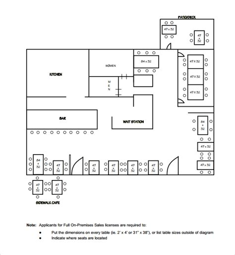 floor plan templates sle floor plan template 9 free documents in pdf word
