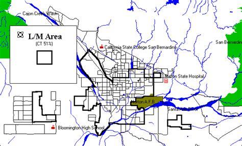 san bernardino zoning map san bernardino consolidated plan executive summary